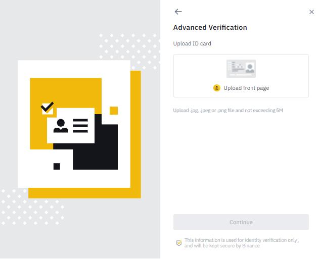 KYC Verification ID in Binance