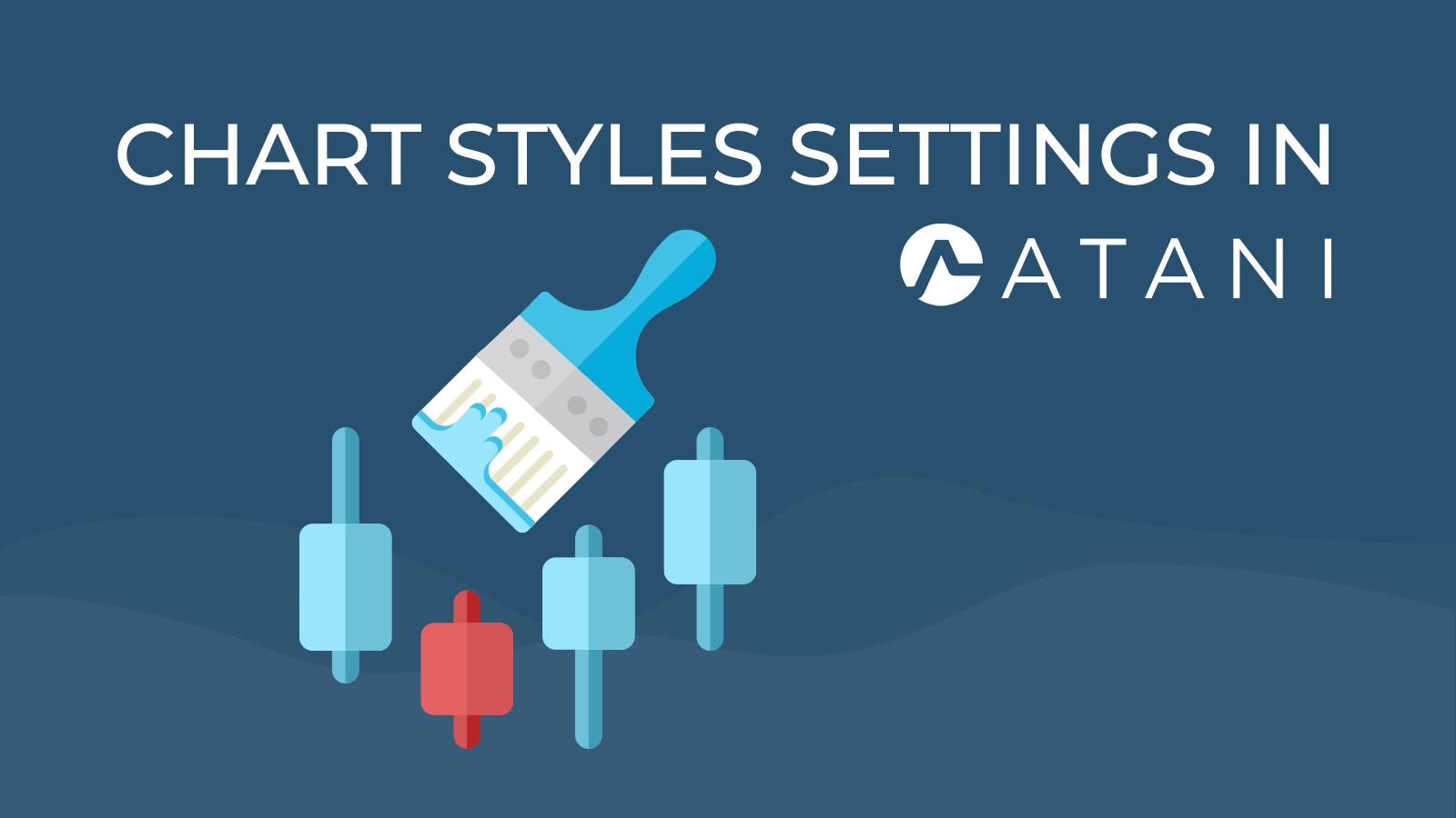 Chart styles setting in Atani